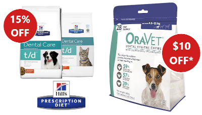 oravet hills dental dogs cats