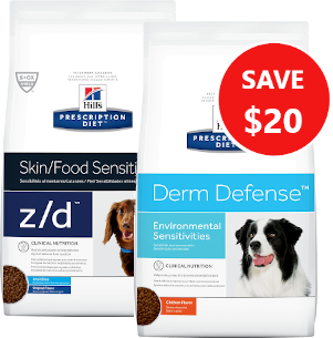 hills allergy prescription diet dog food