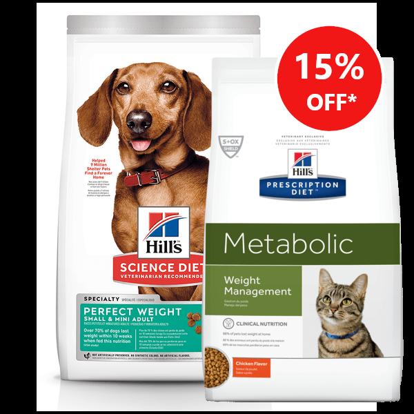 hills prescription diet dog and cat food